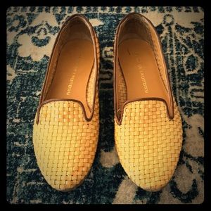 Woven Loafers/ Flats